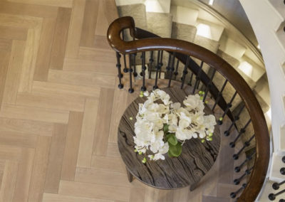 Hallway Parquet Flooring London