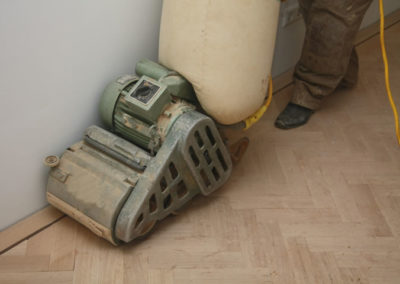 Wood Flooring Restoration Project London