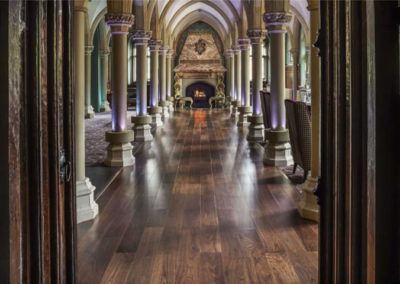 Walnut Flooring Project London