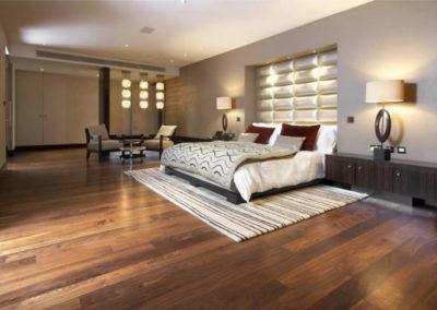 Bedroom Walnut Flooring London