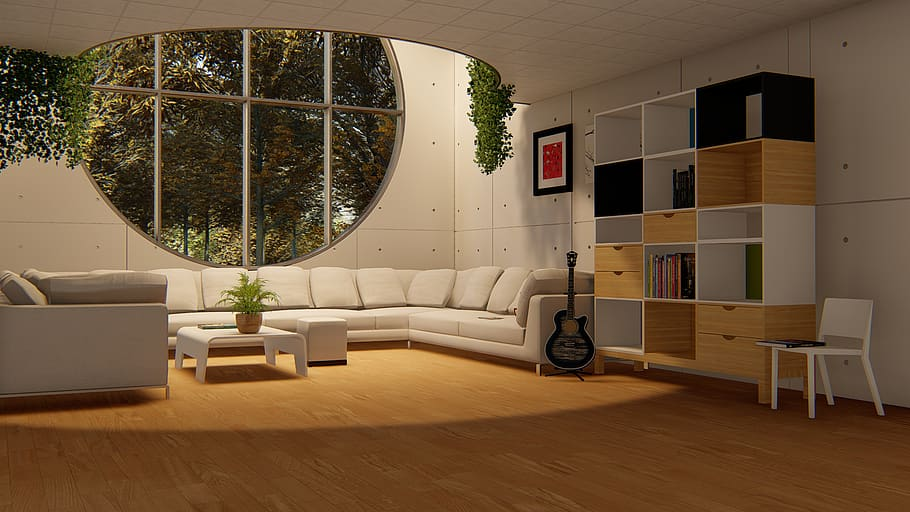 CK Flooring - Contrasting furniture